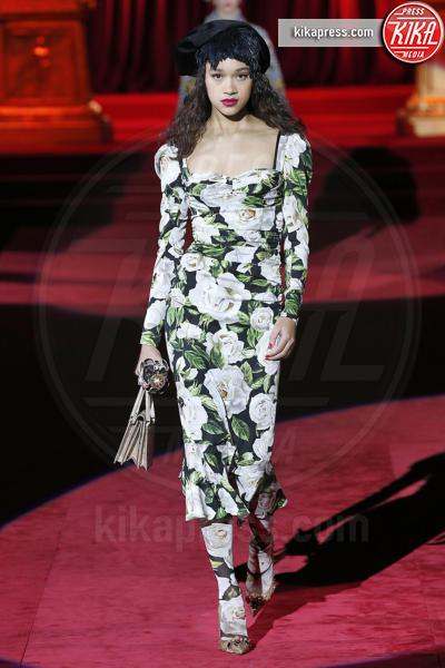 Sfilata Dolce Gabbana, Model - Milano - 24-02-2019 - MFW: chiudono Dolce & Gabbana con la loro Eleganza