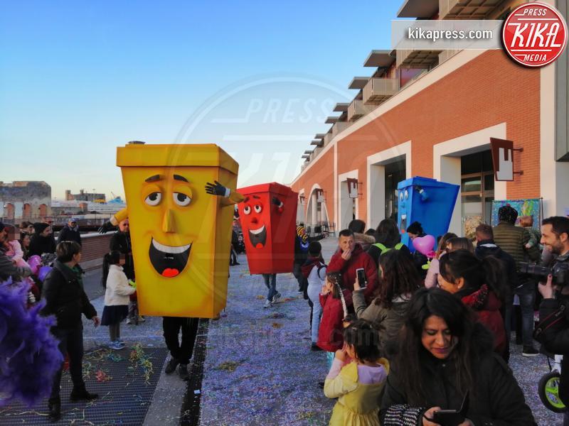 Carnevale 2019 - Livorno - 24-02-2019 - Livorno: quando a Carnevale si insegna la raccolta differenziata