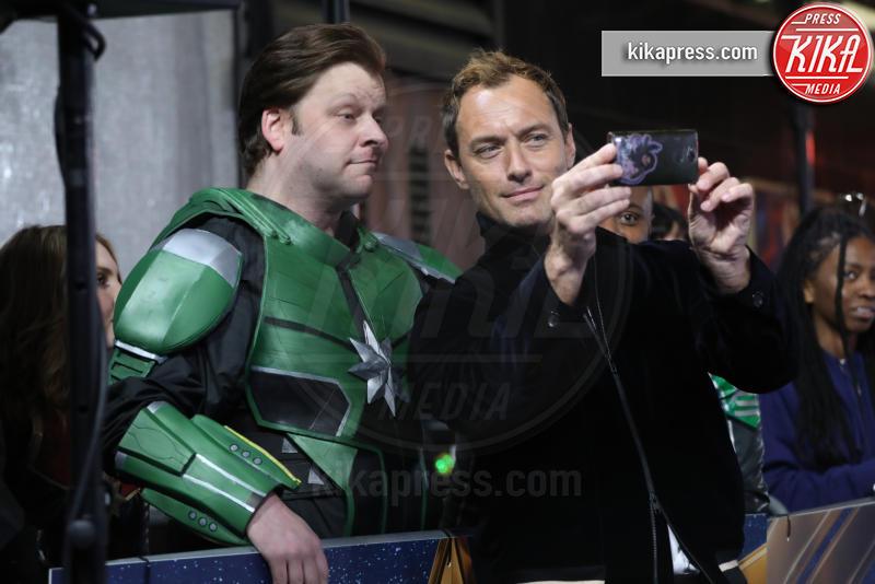 Jude Law - Londra - 27-02-2019 - Brie Larson è la stella del gala londinese di Captain Marvel