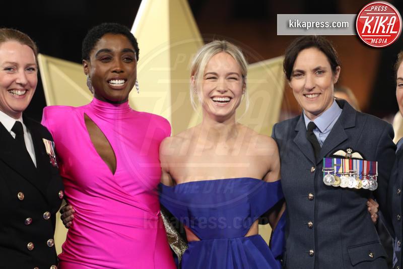 Lashana Lynch, Brie Larson - Londra - 27-02-2019 - Brie Larson è la stella del gala londinese di Captain Marvel