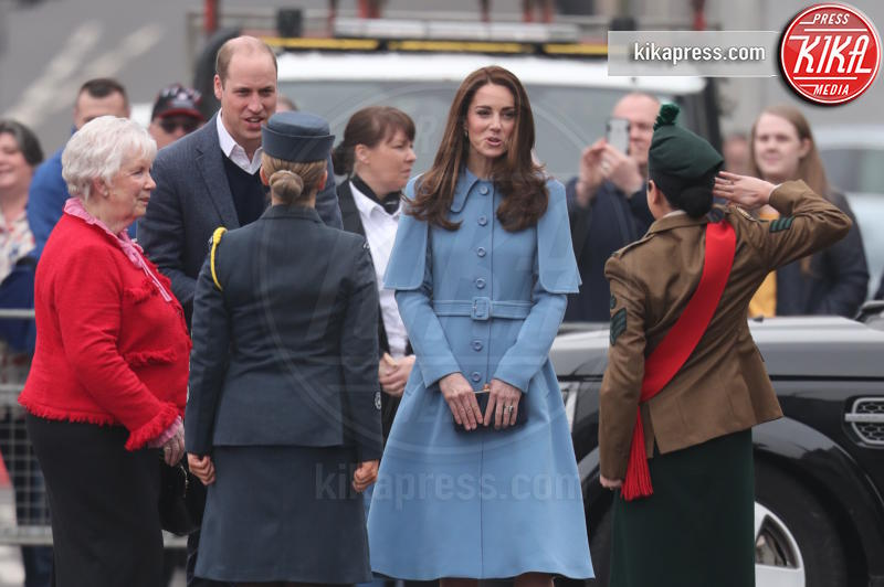 Principe William, Kate Middleton - Belfast - 28-02-2019 - Kate Middleton agli incontri pubblici arriva come una papessa