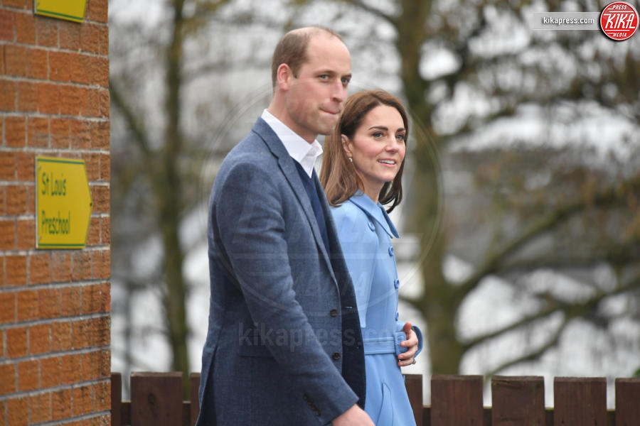 Principe William, Kate Middleton - Ballymena - 28-02-2019 - Kate Middleton agli incontri pubblici arriva come una papessa