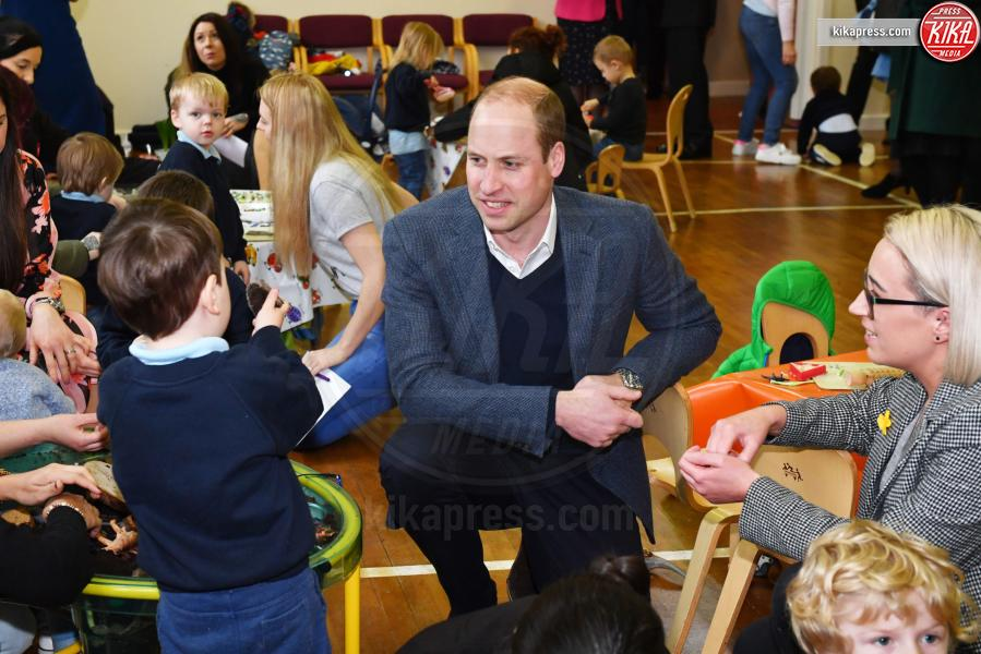 Principe William - Ballymena - 28-02-2019 - Kate Middleton agli incontri pubblici arriva come una papessa