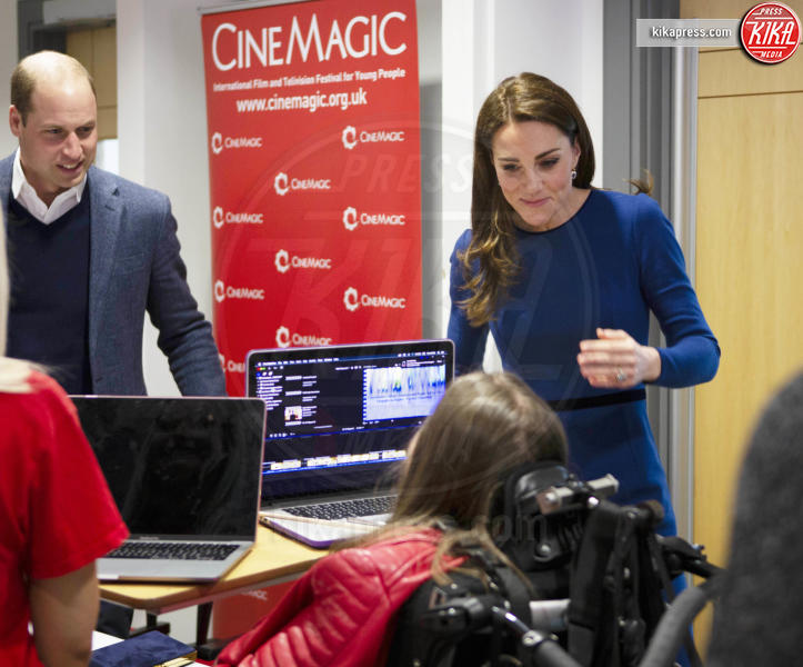 Prince William, William Duke of Cambridge, Kate Middleton - Ballymena - 28-02-2019 - Kate Middleton agli incontri pubblici arriva come una papessa