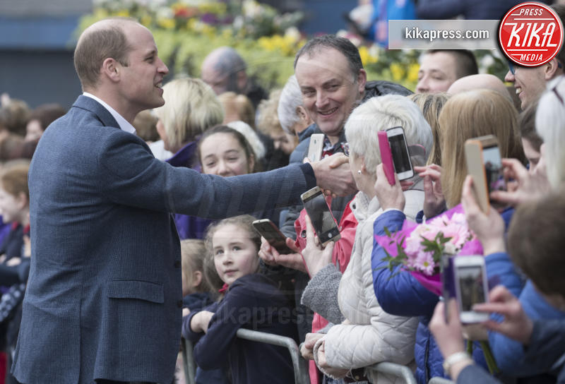 Prince William, William Duke of Cambridge - Ballymena - 28-02-2019 - Kate Middleton agli incontri pubblici arriva come una papessa