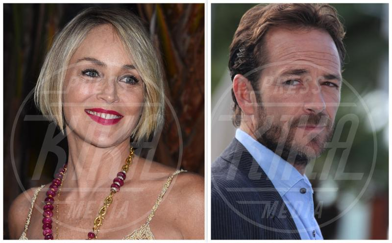 Luke Perry, il commovente incoraggiamento di Sharon Stone