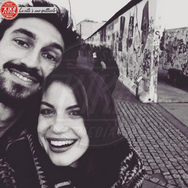 Davide Astori, Francesca Fioretti - Milano - 03-03-2019 - Francesca Fioretti: