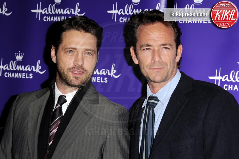 Luke Perry, Jason Priestley - Pasadena - 07-01-2011 -  Luke Perry, ecco a quanto ammonta l'eredità per i figli