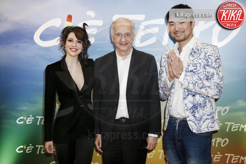 Shi Yang Shi, Walter Veltroni, Simona Molinari - Milano - 05-03-2019 - Walter Veltroni alla première del suo film C'è Tempo