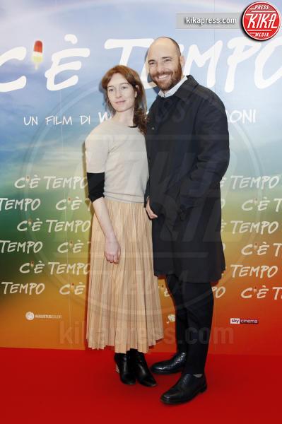 Andrea Pezzi, Cristiana Capotondi - Milano - 05-03-2019 - Walter Veltroni alla première del suo film C'è Tempo