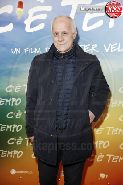 Luciano Fontana - Milano - 05-03-2019 - Walter Veltroni alla première del suo film C'è Tempo