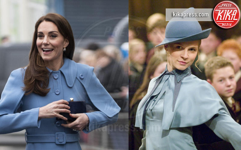 Kate Middleton, Clemence Poesy - 06-03-2019 - Kate Middleton e Fleur Delacour, chi lo indossa meglio?