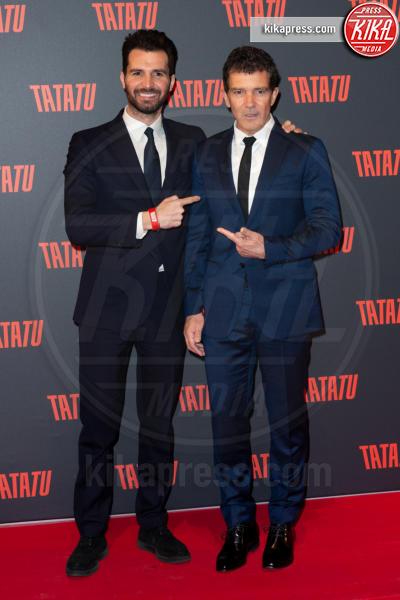 Andrea Iervolino, Antonio Banderas - Roma - 06-03-2019 - Banderas a Roma per presentare TaTaTu, c'è anche Manu Arcuri