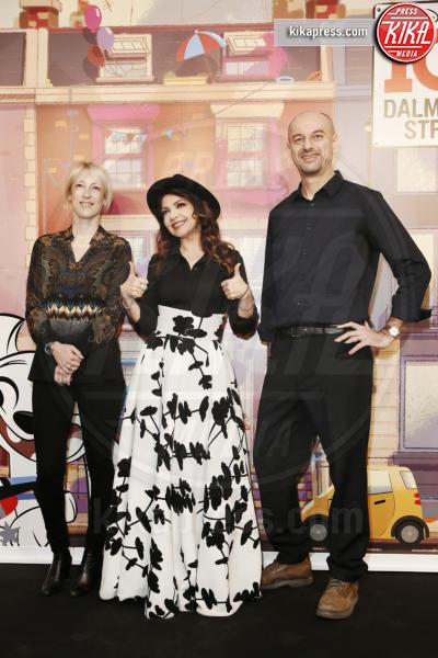 Andrea Greppi, Cara Speller, Cristina D'Avena - Milano - 07-03-2019 - Cristina D'Avena, la voce di 101 Dalmatian Street