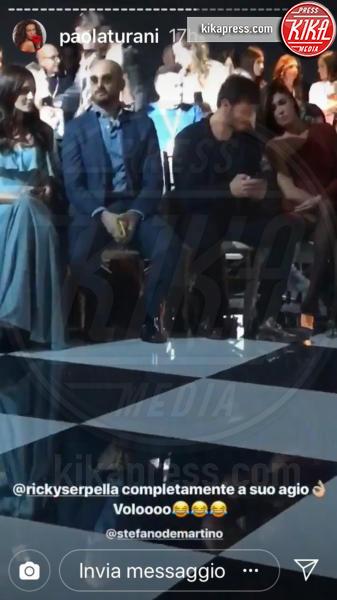 Riccardo Serpellini, Stefano De Martino, Belen Rodriguez - 06-03-2019 - Stefano De Martino debutta da attore in una serie tv