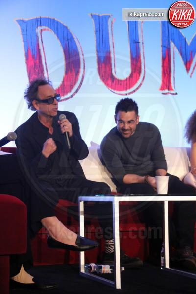 Tim Burton, Colin Farrell - Hollywood - 10-03-2019 - Tim Burton: