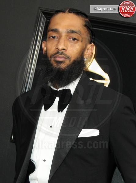 Ermias Asghedom, Nipsey Hussle - Los Angeles - 10-02-2019 - È morto Nipsey Hussle, il rapper ucciso in una sparatoria a LA