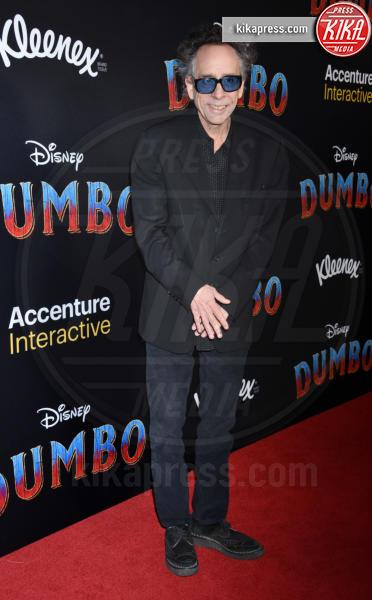 Tim Burton - Hollywood - 11-03-2019 - Angelina Jolie brilla come una stella alla prima di Dumbo
