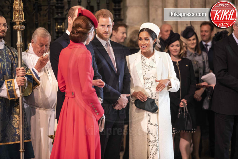 Meghan Markle, Kate Middleton, Principe Harry - Londra - 12-03-2019 - Harry: