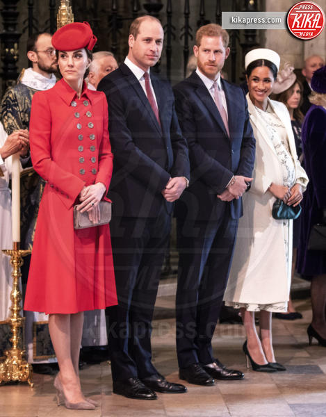 Meghan Markle, Principe William, Kate Middleton, Principe Harry - Londra - 12-03-2019 - Harry: