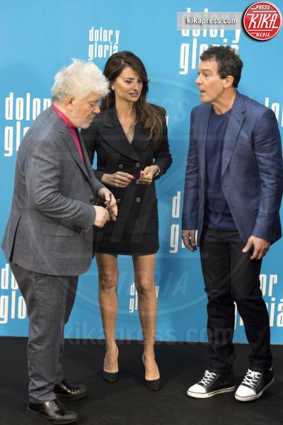 Pedro Almodovar, Antonio Banderas, Penelope Cruz - Madrid - 12-03-2019 - Penelope Cruz, la musa di Dolore e Gloria di Pedro Almodovar