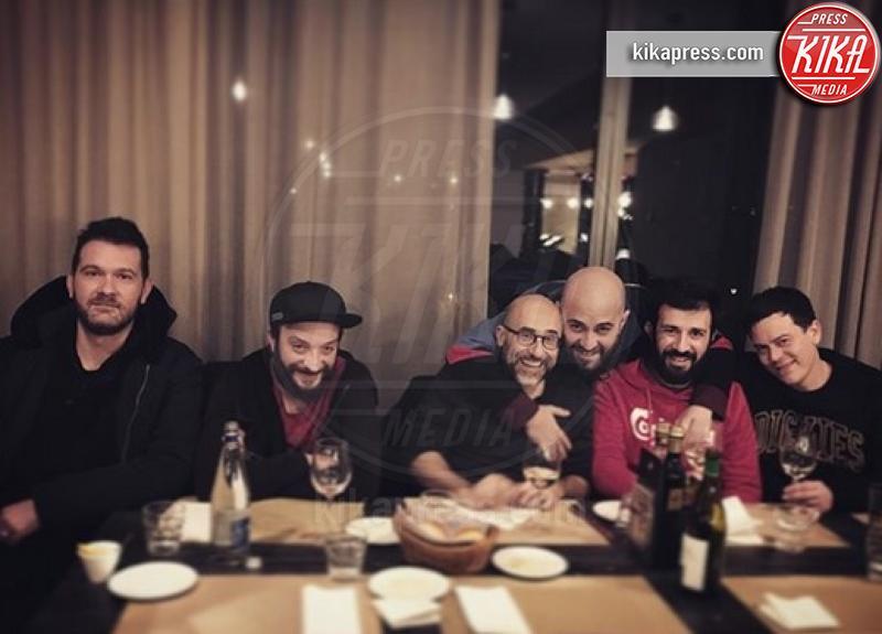 Emanuele Spedicato, Clio Evans, Giuliano Sangiorgi - Hollywood - 13-03-2019 - Lele Spedicato, il ritorno a casa con Clio