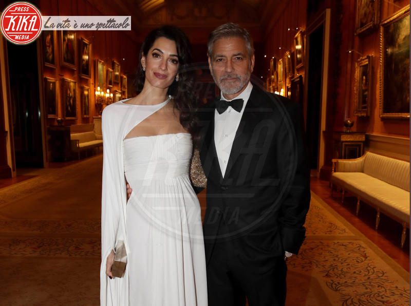 Prince's Trust Dinner 2019, Amal Clooney, George Clooney - Londra - 12-03-2019 - Amal e George Clooney, che risate col Principe Carlo!