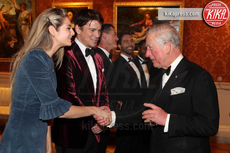 Prince's Trust Dinner 2019, Principe Carlo d'Inghilterra, Tamsin Egerton, Josh Hartnett - Londra - 12-03-2019 - Amal e George Clooney, che risate col Principe Carlo!