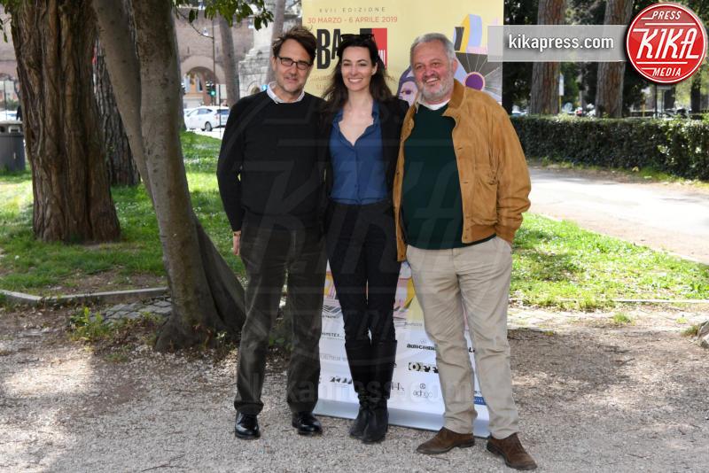 Francesco Ranieri Martinotti, Steve Della Casa, Daniela Virgilio - Roma - 13-03-2019 - Il BAFF - Busto Arsizio Film Festival presentato oggi a Roma
