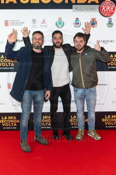 Lorenzo Tiberia, Leonardo Bocci, Andrea Venditti - Roma - 13-03-2019 - Aurora Ruffino presenta a Roma La mia seconda volta