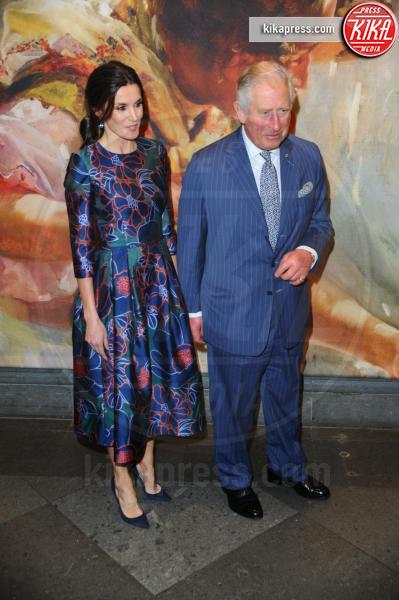 Principe Carlo d'Inghilterra, Letizia Ortiz - Londra - 13-03-2019 - Letizia di Spagna fa aspettare il principe Carlo! Ma lui...