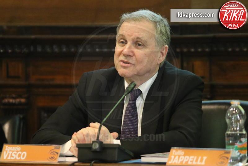 Ignazio Visco - Napoli - 14-03-2019 - Napoli, Ignazio Visco ospite dell'Università Federico II
