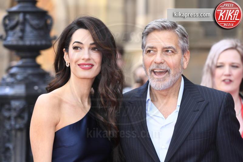 Amal Alamuddin Clooney, George Clooney - Edimburgo - 14-03-2019 - Amal e George Clooney: il cuore d'oro della golden couple
