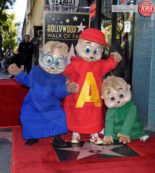 Alvin, Simon - Hollywood - 14-03-2019 - Alvin Superstar diventa una stella di Hollywood, letteralmente!