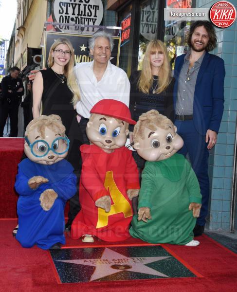 Ross Bagdasarian, Alvin, Simon - Hollywood - 14-03-2019 - Alvin Superstar diventa una stella di Hollywood, letteralmente!