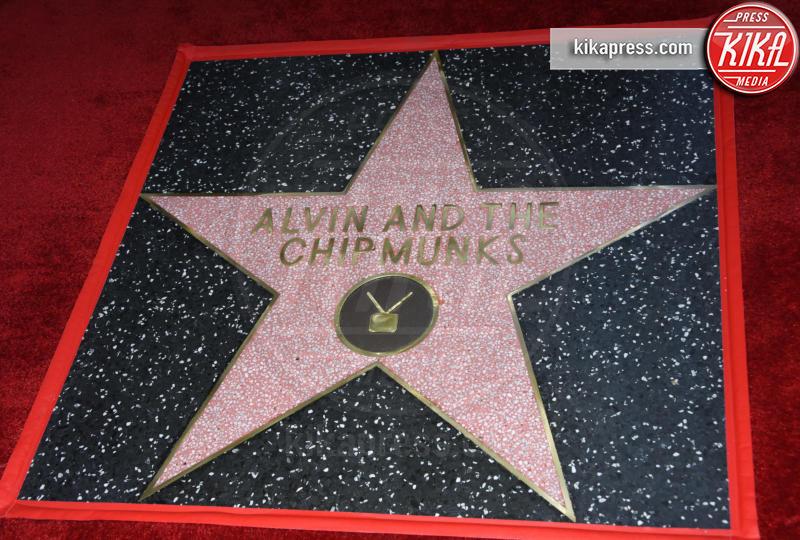 The Chipmunks, Alvin, Star - Hollywood - 14-03-2019 - Alvin Superstar diventa una stella di Hollywood, letteralmente!