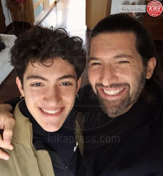 Martin Nudo, Walter Nudo - Milano - 18-03-2019 - Festa del papà, i padri single dello star system