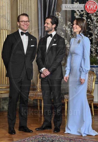 Principe Carlo Filippo di Svezia, Principessa Sofia di Svezia, Daniel Westling - Stoccolma - 14-03-2019 - Charlize Theron e Sofia di Svezia, chi lo indossa meglio?