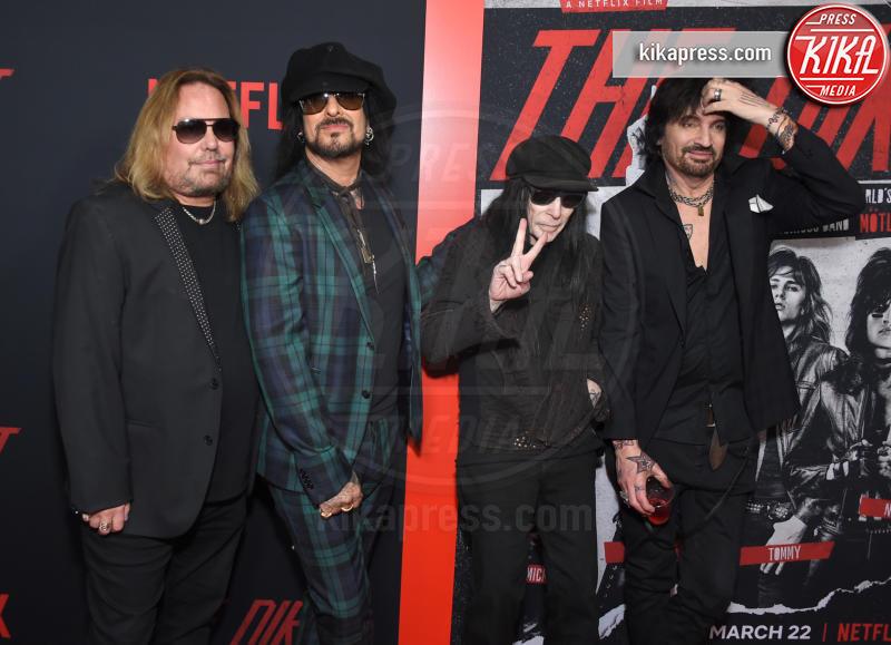 Vince Neil, Mick Mars, Nikki Sixx, Tommy Lee - Hollywood - 18-03-2019 - Paris Jackson sul red carpet dopo i rumors sul tentato suicidio