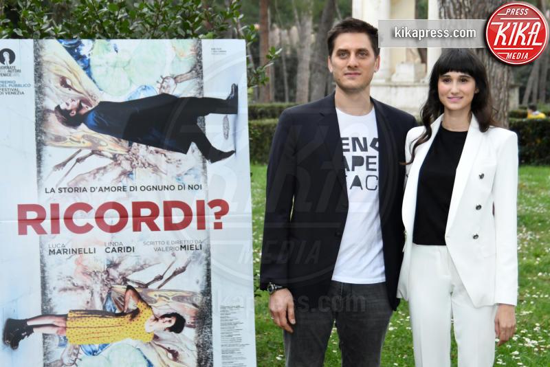 Linda Caridi, Luca Marinelli - Roma - 19-03-2019 - Luca Marinelli eroe romantico in Ricordi?