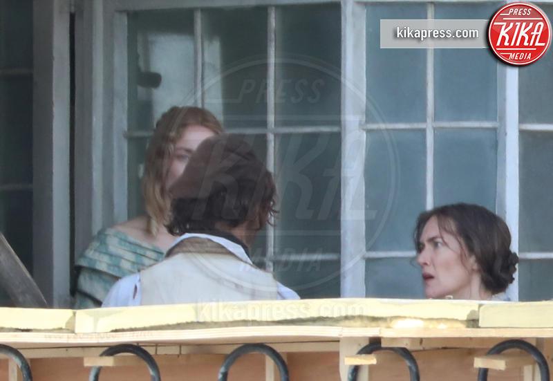 Saoirse Ronan, Kate Winslet - Lyme Regis - 26-03-2019 - Ammonite: Saoirse Ronan sul set con Kate Winslet