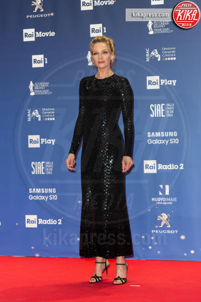 Uma Thurman - Roma - 28-03-2019 - David di Donatello 2019: gli stilisti sul red carpet