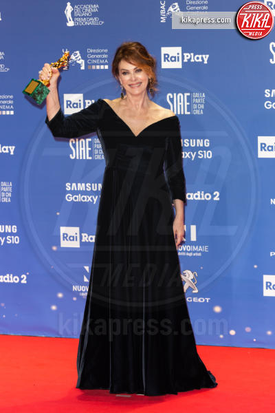 Elena Sofia Ricci - Roma - 28-03-2019 - David di Donatello 2019: gli stilisti sul red carpet