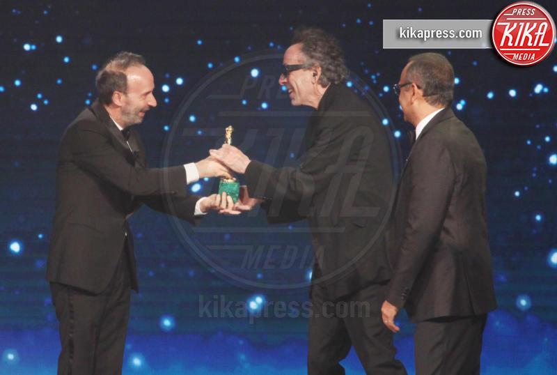 Carlo Conti, Roberto Benigni, Tim Burton - Roma - 27-03-2019 - David di Donatello 2019, le emozioni della cerimonia