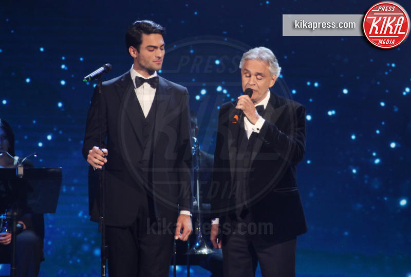 Matteo Bocelli, Andrea Bocelli - Roma - 27-03-2019 - David di Donatello 2019, le emozioni della cerimonia