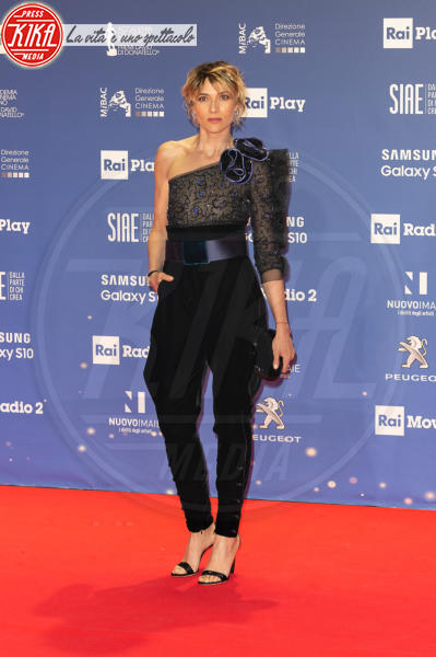 Anna Foglietta - Roma - 27-03-2019 - David di Donatello 2019: gli stilisti sul red carpet