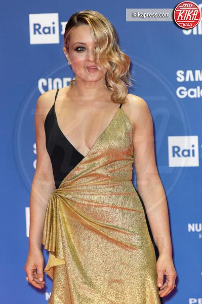Carolina Crescentini - Roma - 27-03-2019 - David 2019: il volo della gonna di Taylor Mega sul red carpet