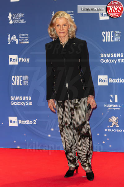 Marina Cicogna - Roma - 27-03-2019 - David 2019: il volo della gonna di Taylor Mega sul red carpet