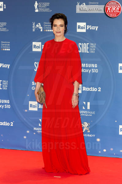 Stefania Rocca - Roma - 27-03-2019 - David di Donatello 2019: gli stilisti sul red carpet