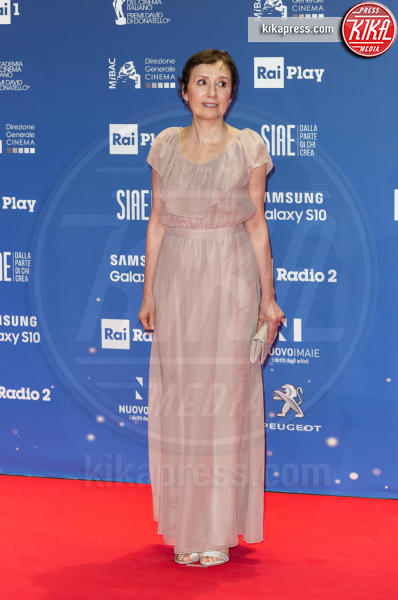 Nicoletta Braschi - Roma - 27-03-2019 - David di Donatello 2019: gli stilisti sul red carpet